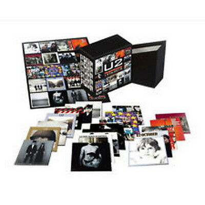U2 The Complete Edition 1976-2018 Box 22 CD U.S. Made & shipped New & Sealed