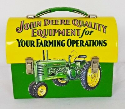 John Deere Small Tin Lunch Box Quality Equipment For Your Farming Operations