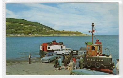 THE BLACK ISLE, NORTH KESSOCK: Inverness-shire postcard with ferry (C33592)