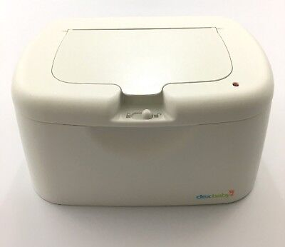 Dex Baby Wipe Warmer Deluxe, Model# Wwth-01, With Lid And Lock, White