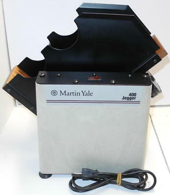 Martin Yale Tabletop 400 Paper Jogger - Excellent Condition