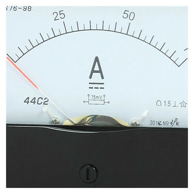 ANALOG Panel Ammeter DC 0.75 A Messbereich 44 C2 L3O2