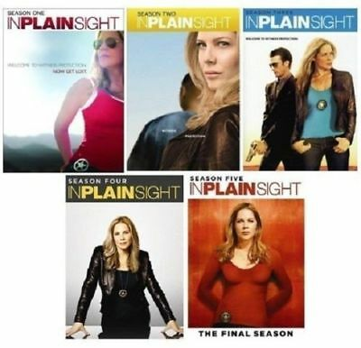 IN PLAIN SIGHT Complete Series Seasons 1-5 DVD Set BRAND NEW Free Ship