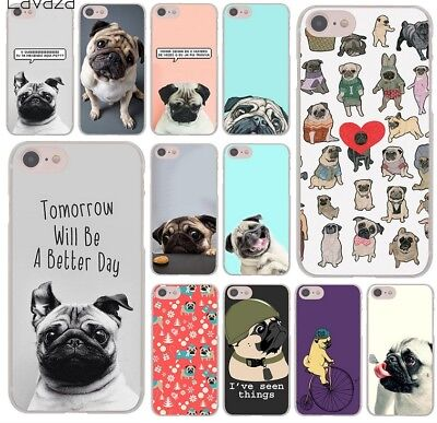 Pug seen things dog Ride butterfly Art Phone Case for iphone XS Max XR X 8 7 6