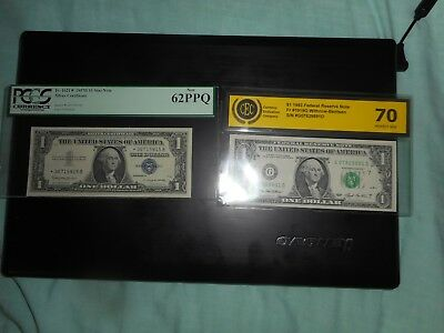 Lot of 2  notes, dollars,star note,new