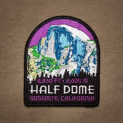 Half Dome Yosemite Embroidered Patch