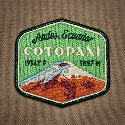 Cotopaxi Embroidered Patch