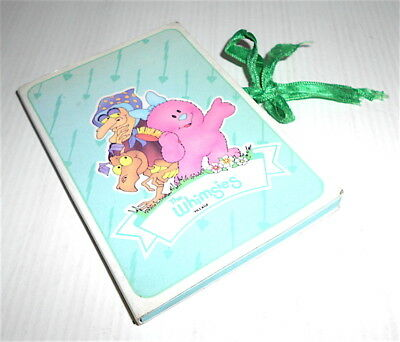 THE WHIMSIES VILLAGE 80s Malipiero italy tiny pocket memo - notes piccolo nastro