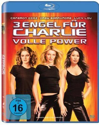 Charlie's Angels FULL THROTTLE (2003) Blu-Ray IMPORT  BRAND NEW (USA Compatible)
