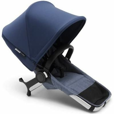 Bugaboo Donkey2 Duo Extension Complete- Blue Melange/Sky