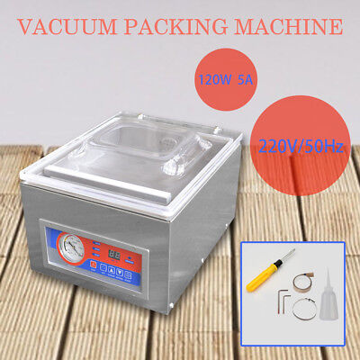 Commercial Vacuum Packing Sealing Machine Sealer Home Kitchen Food Packaging