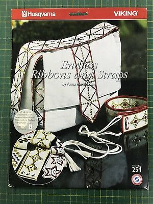 Machine Embroidery Designs cd - Endless Ribbons And Straps