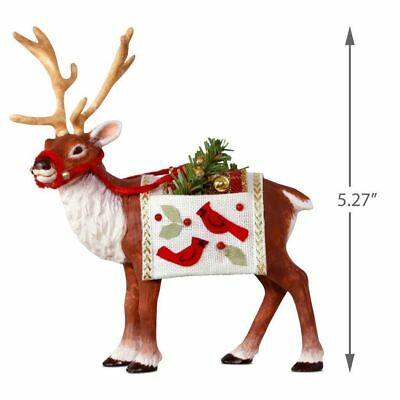 Hallmark 2018 Father Christmas's Reindeer Limited Edition Ornament!*