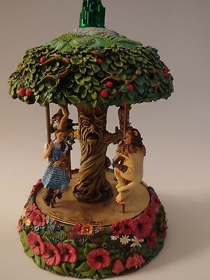 Wizard of Oz Musical Carousel by The Franklin Mint