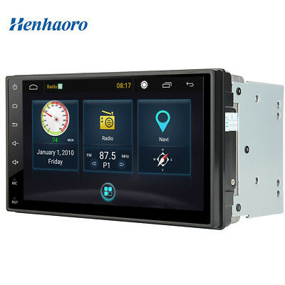 """7"""" head unit Android Car Stereo Gps Navigation Lollipop 5.1 Touch Screen Radio"""