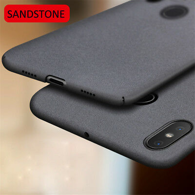 For Xiaomi Mi A2 8/8Lite Luxury Sandstone Case Slim Hard & Soft Back Cover Skin