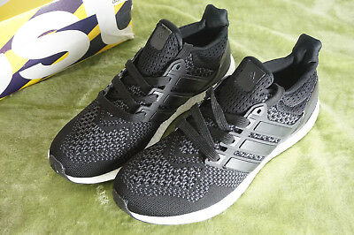 bbdd09b63bfcc Adidas Ultra Boost 1.0 Core Black S77417 Running Shoes Size 9.5 Brand New