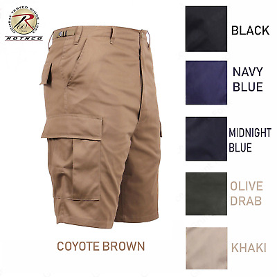 Combat BDU Cargo Shorts Solid Color Military Army Shorts XS-5XL