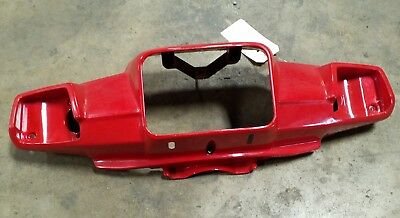 1993-2001 Yamaha Riva 125 Red Front Cowl Cowling Headlight Plastic Fairing Cover