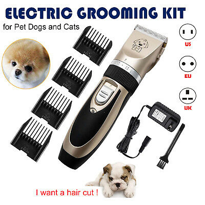 Electric Hair Trimmer Animal Pet Dog Cat Shaver Razor Grooming Quiet Clipper