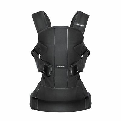 Babybjorn Baby Carrier ONE - Black Cotton Mix