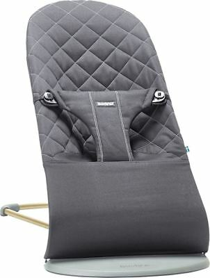 Babybjorn Bouncer Bliss, Quilted Cotton - Black
