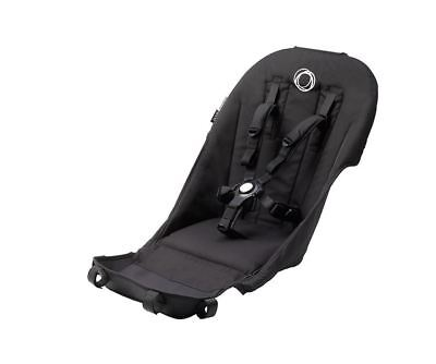 Bugaboo Donkey Seat Fabric - Black ( + Comfort Harness)