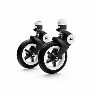 Bugaboo Bee Front Swivel Wheels With Fork Replacement Set of 2 (Bee5 Onlyl)