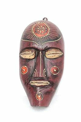 Vintage Old Style Antique New African Man Mask Decorative Collectible F-89