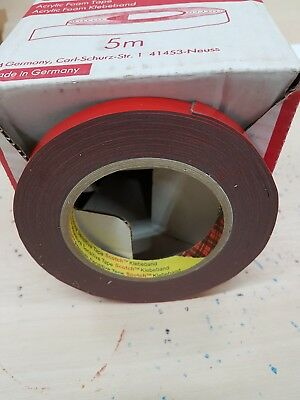 3M  9MM  5Metre Roll Acrylic DOUBLE SIDED VHB TAPE ~ Automotive, craft,