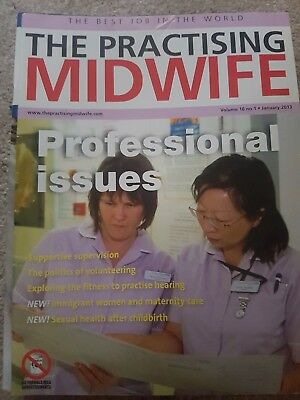 11 The Practising Midwife Jornals