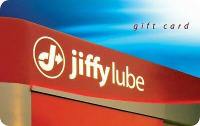 Jiffy Lube Gift Card $25 Value, Free Shipping!