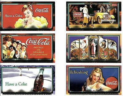 1996 Coca Cola Cards - Complete 72 Card Set
