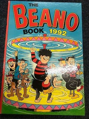 The Beano Book - Annual Hardback 1992 - Excellent Condition