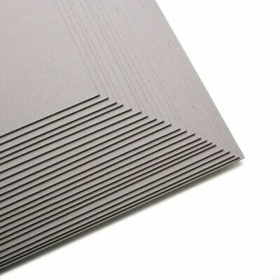 6 Sheets of 200x200mm 1.5 MM THICK Greyboard Backing Board for Crafts & Art