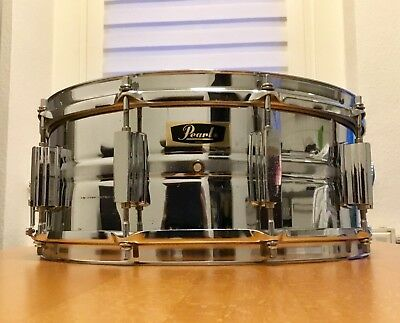 """Pearl 4514 Snare Drum, 14""""x5,5'', Bj.1969, Made in Japan."""