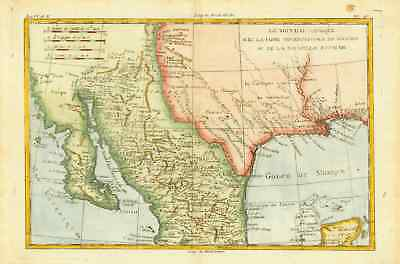 Mexico - New Mexico - Texas - Louisiana - Baja California - New Spain