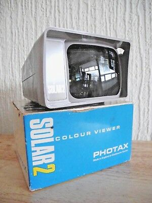 Photax Solar 2 Colour viewer - with original box