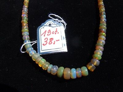 Opale: Äthiopische Welo Opal - Armband 19 ct.