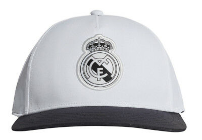 ADIDAS FOOTBALL CHAPEAU Real Madrid Rayures Casquette Noir