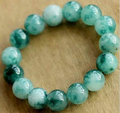 8mm specialty natural Amazonite / Interfax jade/ Bracelets / evil Lucky