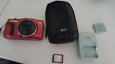 Canon PowerShot SX710 20.3MP Digital Camera - Red