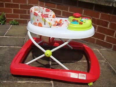 Mothercare Baby Walker With Musical Acivity Centre