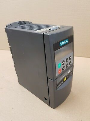 Siemens Micromaster 420 with operators interface.