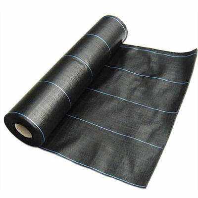 100g 2m wide weed control fabric ground cover membrane landscape mulch Driveway