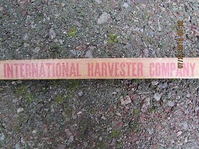 Vintage  International  Harvester McCormick-Deering Tractors Yard Stick 4sq