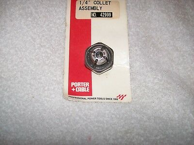 """GENUINE PORTER CABLE  1/4"""" Router Collet PART # 42999"""