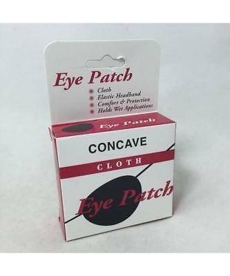 Concave Cloth Eye Patch, Blue, 1ct 030138001341A491