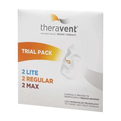 Theravent Snore Therapy Strips, Trial Pack, 6ct 858076006002A580