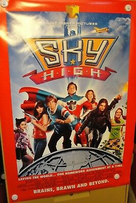 Sky High ( 2005) original movie theater poster  2 sided